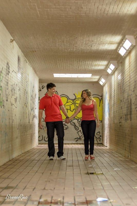 ensaio casal ensaio romântico prévia romântica brasília pontos turísticos brasília passagem subterrânea